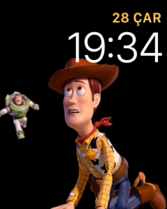 Apple Watch Toy Story Kadranı - Woody ve Buzz Lightyear