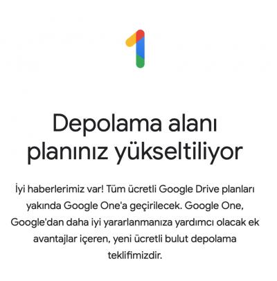 Google One Nedir? Google Drive Kullanıcılarını Neler Bekliyor?
